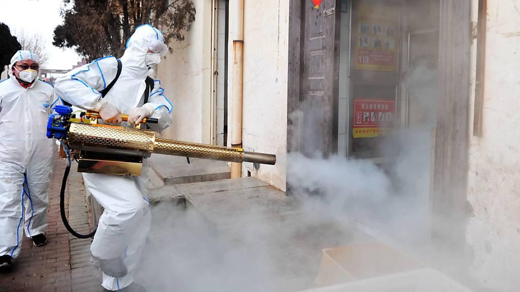 25 neue Todesfälle in chinesischer Provinz Hubei durch Coronavirus
