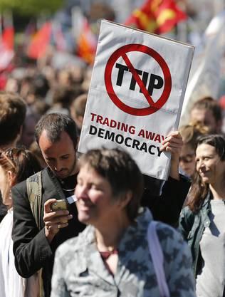 Demonstration gegen TTIP in Brüssel_2