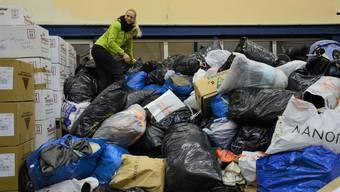 Marit Neukomm sammelte 55 Tonnen Hilfsgüter für Syrien