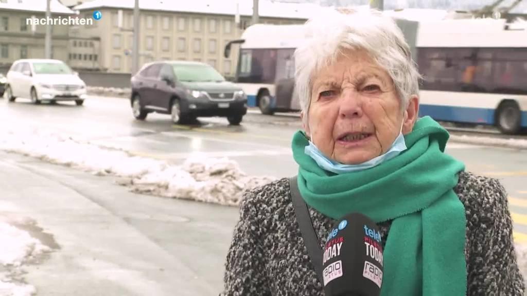 Stadt Luzern wirbt für warme Pullover statt Heizung