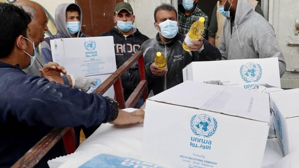 Bundesrat knüpft UNRWA-Unterstützung an Bedingungen