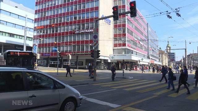 Neugestaltung Bahnhof Bern: Künftiges Abbiegeverbot bei Bubenberg-Kreuzung