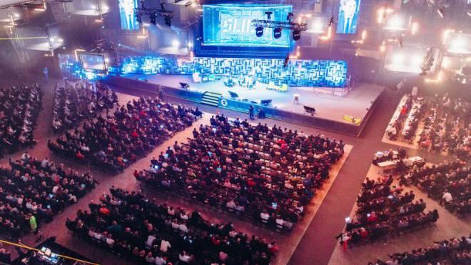 Mit 15 000 Besuchern ist die Slush-Konferenz der grösste Start-up-Event in Europa. Foto: Jussi Hellsten