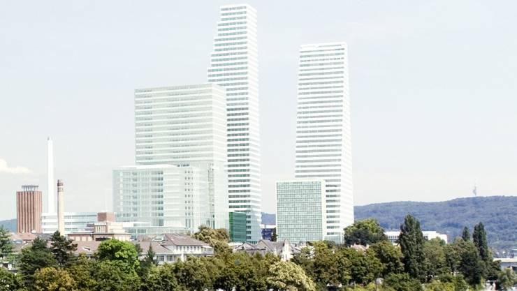 Carl Fingerhuth zum zweiten Roche-Turm: «Die städtebauliche Situation wird verschlimmert.»