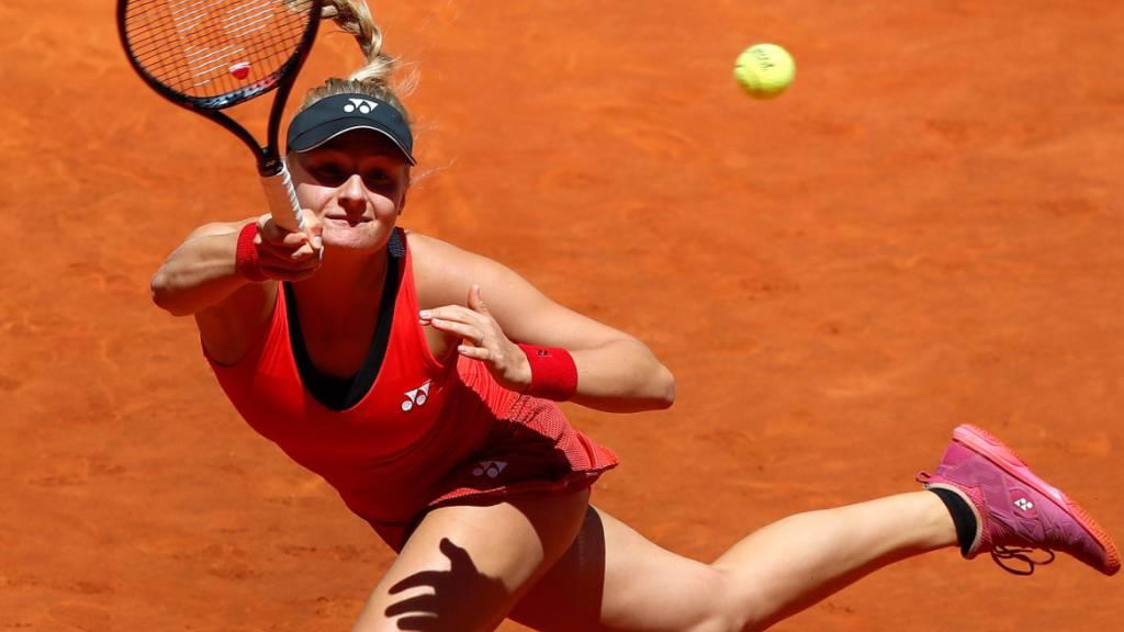 Dajana Jastremska bereitet sich derzeit in Dubai auf die neue Saison vor
