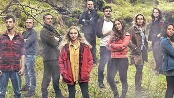 Die Teilnehmer der Reality-TV-Show Eden.
