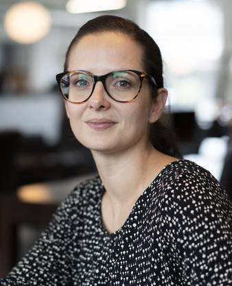 Die Museumsleiterin Violetta Vitacca.