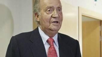 Heftige Diskussionen nach dem Unfall von König Juan Carlos (Archiv)
