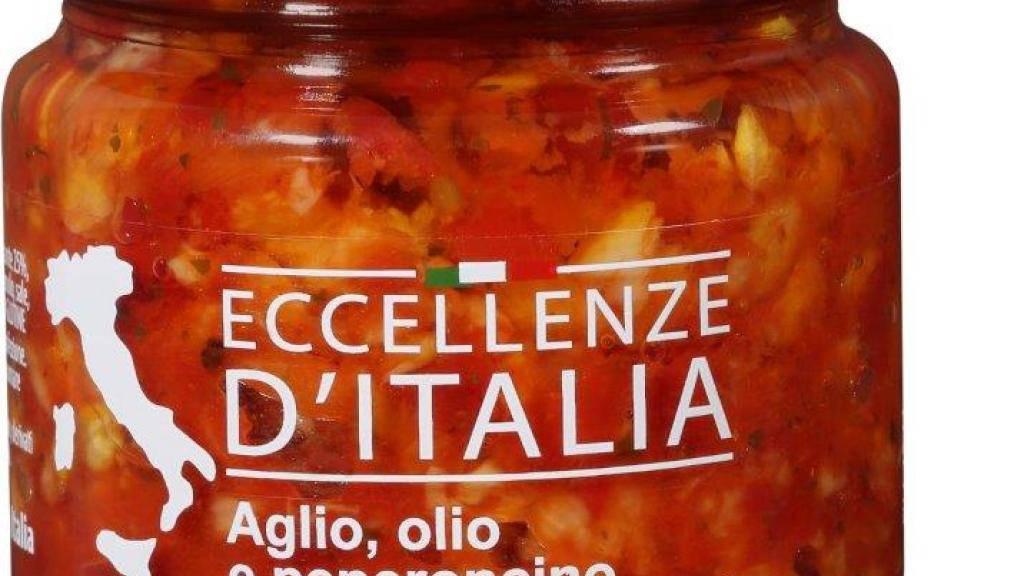 Im Produkt Eccellenze d'Italia «Aglio, olio e peperoncino» können möglicherweise Glasteile enthalten sein.