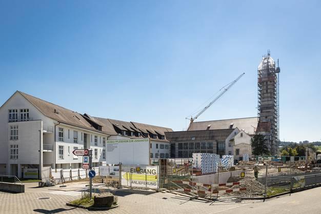Das neue Pflegeheim ist Teil des Modernisierungsprojekts «Impuls».