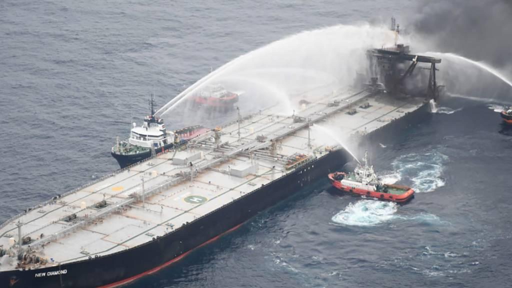 Feuer auf Öltanker vor Sri Lanka unter Kontrolle