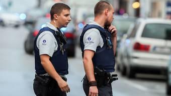 Noch immer vermuten die belgischen Sicherheitsbehörden militante Islamisten im Brüsseler Stadtteil Molenbeek und führen die Serie von Razzien auch in diesem Jahr fort (Aufnahme vom August 2017).