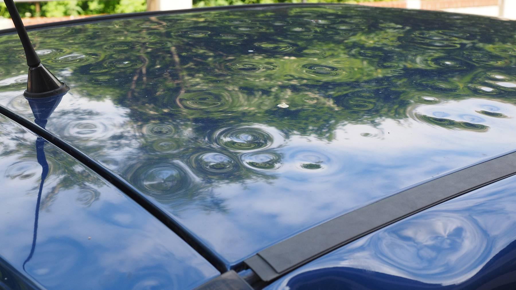 Sensoren sollen Schaden durch Hagel verringern