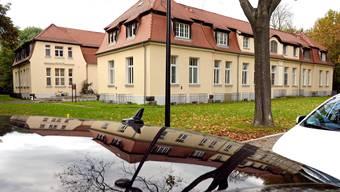 Das Klinikum St. Georg in Leipzig, in dem der Ebola-Patient versorgt wurde und in der Nacht auf Dienstag verstorben ist.