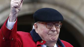 Parteigründer Jean-Marie Le Pen fordert die gesamte Führung des Front National zum Rücktritt auf. (Archivbild)