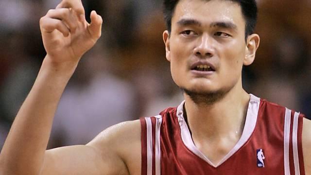 Yao Ming beendete seine Karriere.