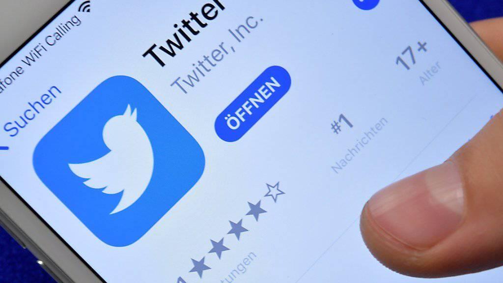 Der Kurznachrichtendienst Twitter verbietet Werbung des russischen Unternehmens Kaspersky. (Archivbild)