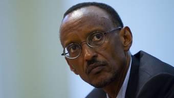 Entlastet: Ruandas Präsident Paul Kagame (Archiv)