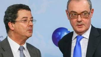 EDA-Staatssekretär Yves Rossier (links) und sein EU-Gegenpart David O'Sullivan