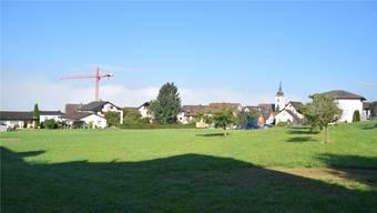 Hier soll einst die Casa Andermatt entstehen und unter anderem 24 Pflegebetten anbieten.