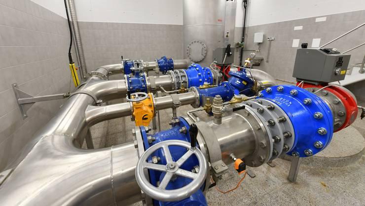 Das Grundwasser-Pumpwerk  Olten Gheid