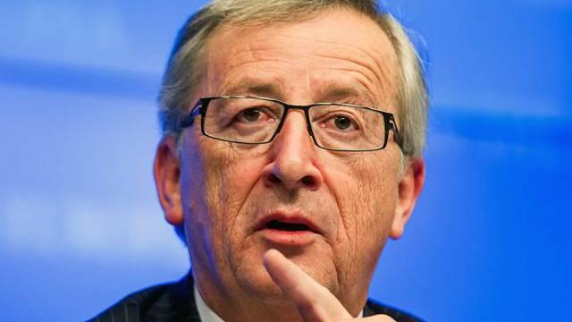 Abtretender Chef der Eurogruppe, Jean-Claude Juncker