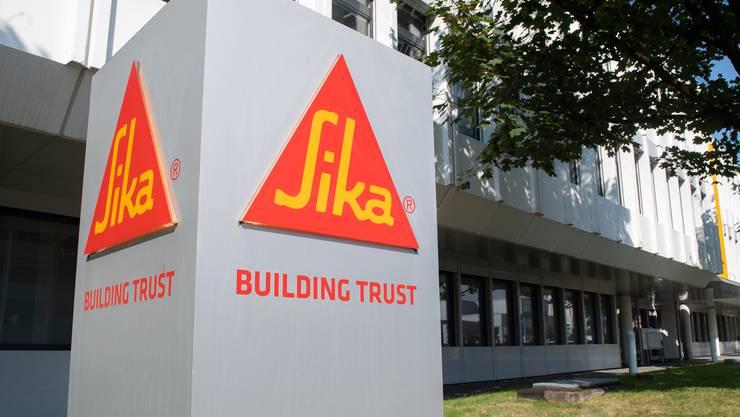 Der Sika Hauptsitz in Baar. Der Konzern erwirtschaftete 2020 einen Umsatz von 7,88 Milliarden Franken.