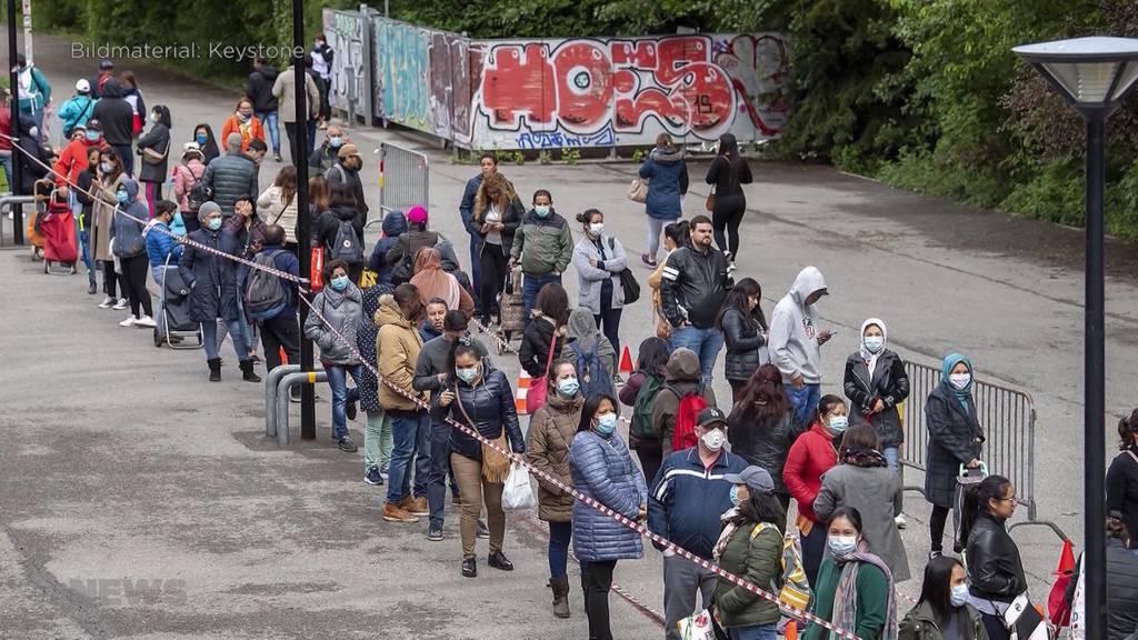 Corona-Krise drängt immer mehr Schweizer in Armut