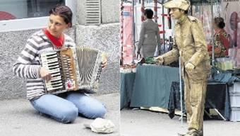 Bettler umgehen Verbot, indem sie sich als Künstler ausgeben