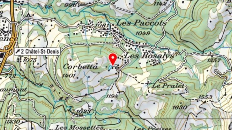 Die Gruppe machte sich vom Lac de Joncs auf und verirrte sich später im Gelände.