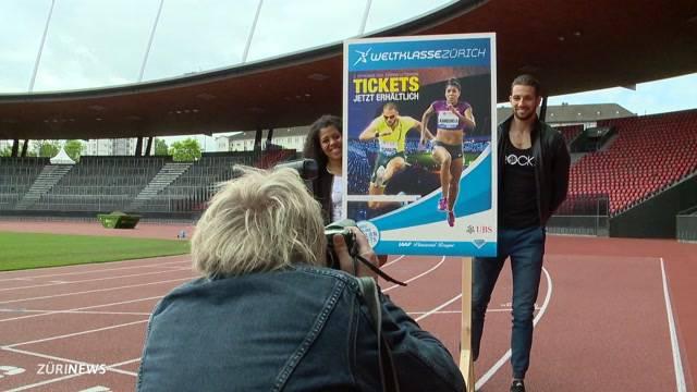 Athleten machen sich bereit für Weltklasse Zürich
