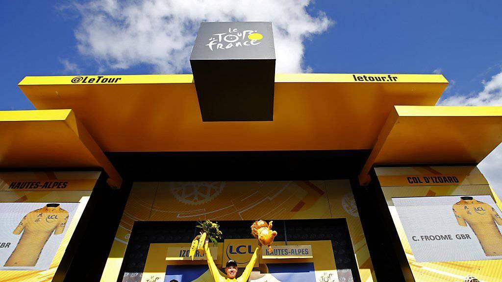 Die Tour de France bleibt bis 2023 im Angebot der SRG