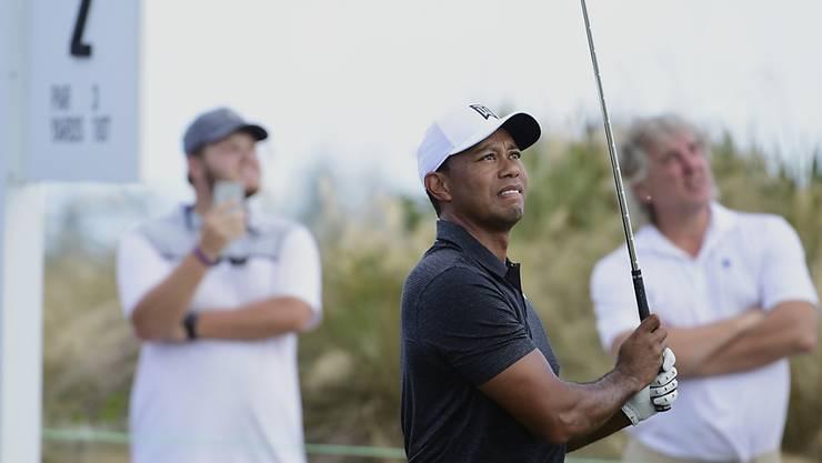Tiger Woods ist endlich wieder in seinem Element