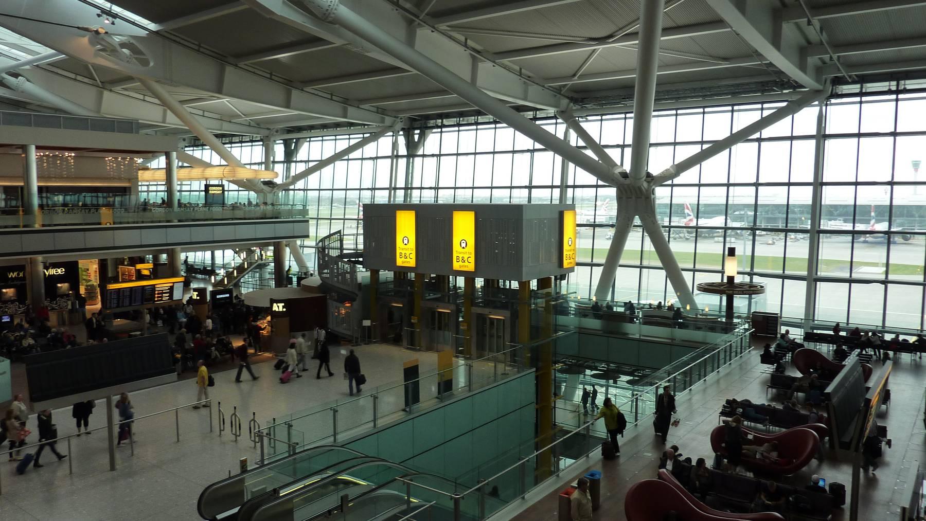 Hunderte Flüge in London gestrichen