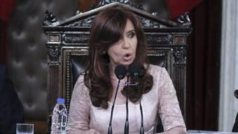 Die argentinische Präsidentin Cristina Kirchner (Archiv)