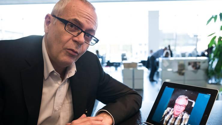 Wirtschaftsjournalist Roman Seiler geht in Pension.