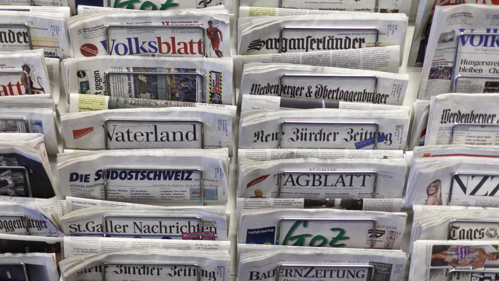 Nur mit staatlicher Förderung könne es auch in Zukunft unabhängigen Journalismus geben. Zu diesem Schluss kommt eine Studie im Auftrag der Stiftung TA-Swiss. (Symbolbild)