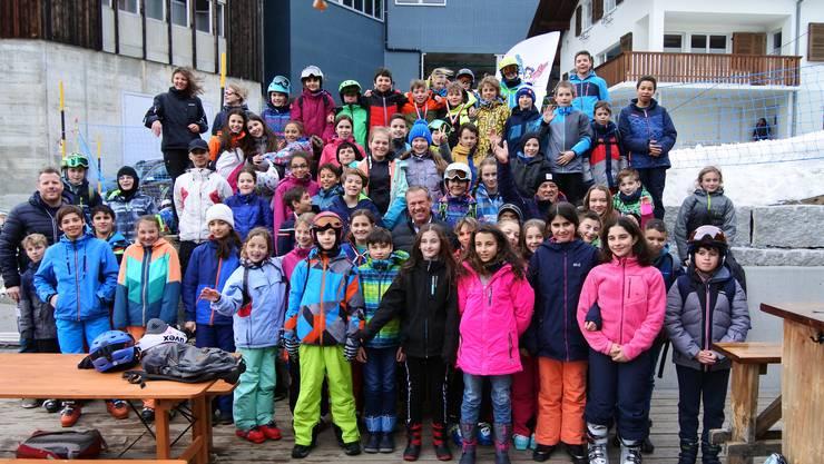 120 Kinder genossen den Skitag auf dem Hasliberg mit der Stiftung «Freude herrscht».