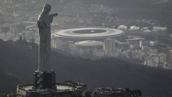Das Maracana-Stadion in Rio de Janeiro