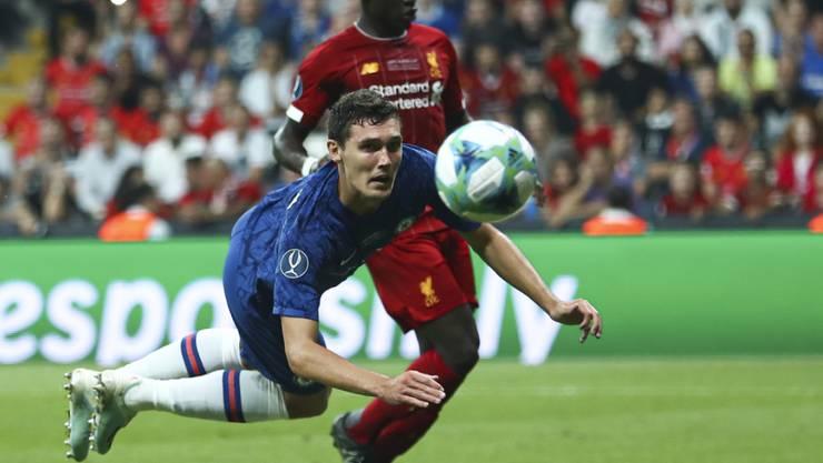 Spektakel in Istanbul: Chelseas Däne Andreas Christensen gegen Liverpools Stürmer Sadio Mané