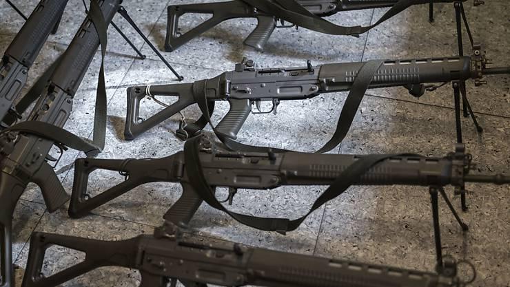 2018 sind in der Schweiz 107 Armeewaffen verloren gegangen. (Archivbild)