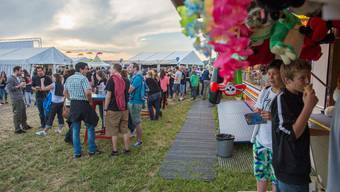Argovia-Fäscht Startschuss mit dem Beizlifest am Freitagabend