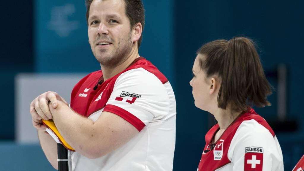 Sieg und Niederlage der Schweizer Curler