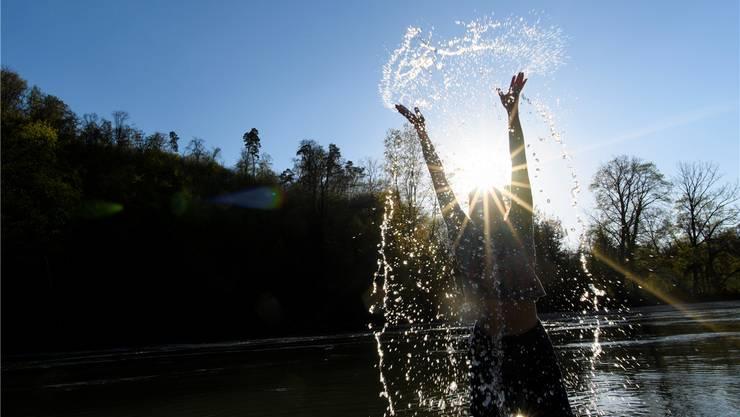 Ein bisschen Zeit im Fluss geniessen?