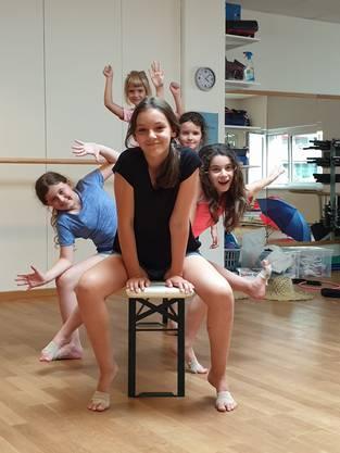 Im Kidsprogramm konnten die Kinder unter anderem eine Choreografie zu einem Showthema einstudieren.