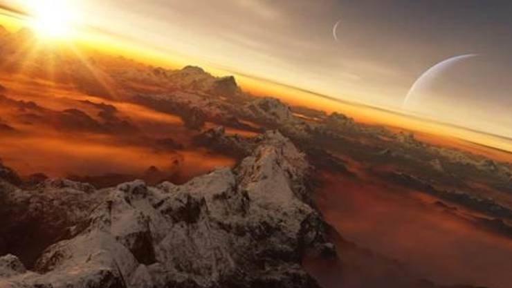 Ein klingender Name soll her für den Exoplaneten HD 130322 b und seinen Stern. Nun darf die Schweizer Bevölkerung darüber abstimmen. (Künstlerische Darstellung)