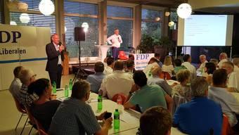 Delegiertenversammlung der FDP Kanton Solothurn vom 22.August 2018