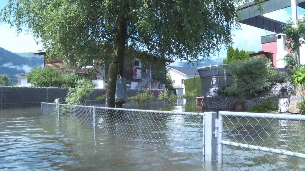 Dauerregen: Hier droht Hochwassergefahr in der Schweiz