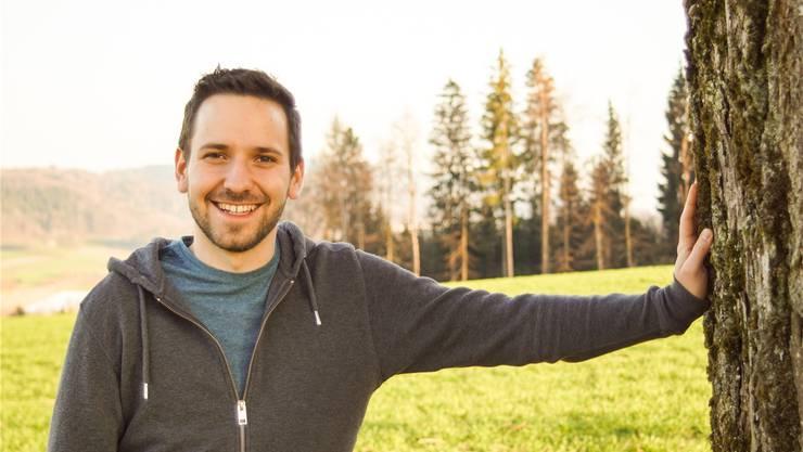 Will Präsident der Jungen EVP Schweiz werden: Grossrat Uriel Seibert. zvg