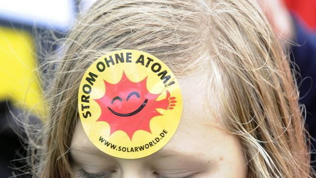 Tausende in Deutschland demonstrieren gegen Atomkraftwerke (Archiv)